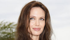 Did Angelina Jolie have her twins over the weekend? (update)