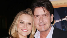 Charlie Sheen and Brooke Mueller to marry tonight amid pregnancy rumors