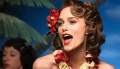 Keira Knightley singing