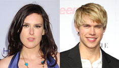 Rumer Willis is hooking up with the new hunk on Glee, Chord Overstreet