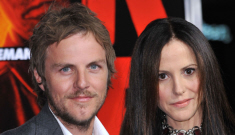 Mary-Louise Parker walks the 'RED' red carpet with her hot boyfriend