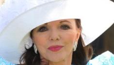"Joan Collins is Team Jolie: ""Jennifer Aniston is cute, but she's no Ava Gardner"""