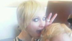 Ashlee Simpson's new blonde pixie cut: adorable or tragic?