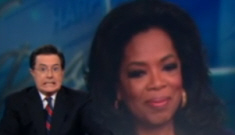 Oprah crashes The Daily Show with Jon Stewart (and Stephen Colbert)