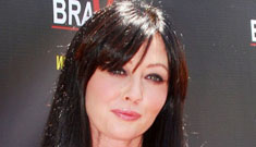 Shannen Doherty calls Angelina Jolie 'badass,' says Lindsay's situation is 'tragic'