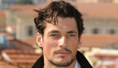 """David Gandy, my lover, talks about his """"fat"""" past and being bullied"""