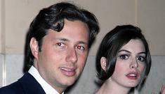 Anne Hathaway's boyfriend in trouble again