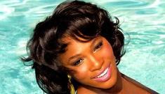 """Serena Williams looking beautiful in Ebony"" links"