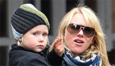 Naomi Watts on how she went through actual CIA spy training while nursing her son