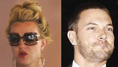 Britney Spears & K-Fed both spend the weekend in Vegas