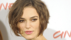 Keira Knightley's Chanel & stringy bob: cute or not so much?