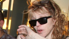 Courtney Love is a cracked-out hot mess, Part II