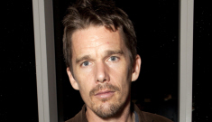 Ethan Hawke has a bizarre kind of hotness (to me, at least)