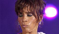 Whitney Houston was a wicked stepmother