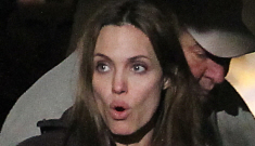 "Angelina Jolie ""freaked out"" when Brad called Courteney Cox"