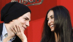 Demi Moore & Ashton Kutcher step out for another uncomfortable photo op