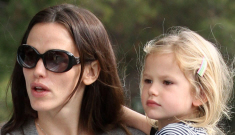 Jennifer Garner steps out with mid-tantrum Violet