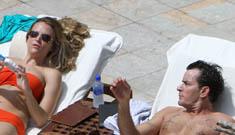 Charlie Sheen and Brooke Meuller fought most of their honeymoon & cut it short