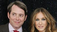 Matthew Broderick says son is curious about smoking and picks up SJP's stray butts