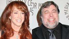 Kathy Griffin said she faked engagement, never slept with Steve Wosniak