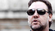 Russell Crowe on why he uses Twitter – he's bored