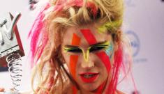 "Ke$ha: ""I'm trying to look like   a cross between Keith Richards & a hobo"""