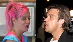 Robbie Williams turns down £1.5 mil to perform; wants to look for aliens with Lily Allen