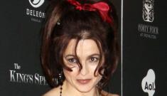 Helena Bonham Carter at 'The King's Speech' premiere: tacky, tragic or cute?