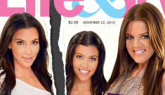 "Life & Style: Khloe & Kourtney Kardashian ""gang up"" on Kim"