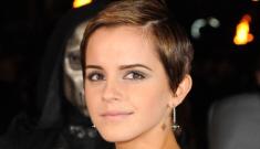 Emma Watson's vintage, black mini-dress: gorgeous or tacky?