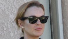 Code Red: Lindsay Lohan is on the loose, crack hustle underway