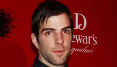 """Zachary Quinto whips out his bitch over """"personal"""" questions about ice cream"""