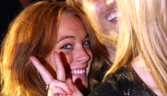 Lindsay Lohan still partying, earth still revolving around the sun