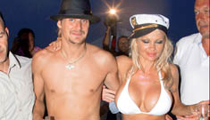 Pamela Anderson Kid Rock wedding photos