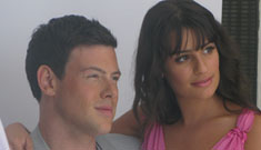 Glee's Cory Monteith: 'I study the people in the tabloids so I don't do that'