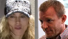 """Guy Ritchie's mom says he and Madonna are """"close and loving"""""""