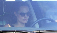 Angelina Jolie and Brad Pitt are sleeping apart