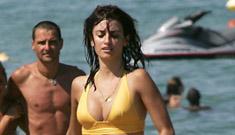Penelope Cruz in a bikini