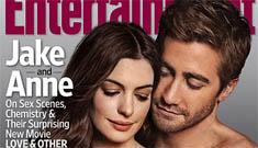 Anne Hathaway & Jake Gyllenhaal's EW covers look like 1970s porn