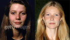 Gwyneth Paltrow is a space cadet with a lot of plastic surgery