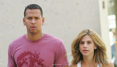 A-Rod's estranged wife in rumored affair with Lenny Kravitz