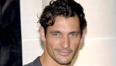 David Gandy wants to be Britain's Model of the Year