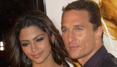 "Matthew McConaughey and Camila Alves named their baby ""Levi"""