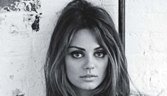 """Mila Kunis, Nylon cover girl: """"My career has been built on low expectations"""""""