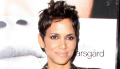 Halle Berry's gold brocade suit: tragic, tacky or not that hideous?