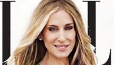 Sarah Jessica Parker talks babies, aging and design in Elle Mag
