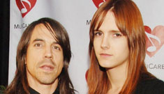 Anthony Kiedis and the mother of his baby break up