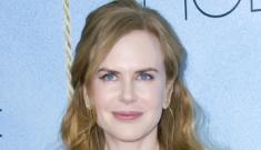 Nicole Kidman's navy Clements Ribeiro: fussy or lovey?