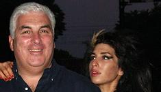 Amy Winehouse's father hospitalized for stress
