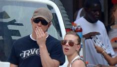 Scarlett Johansson and Josh Hartnett probably still together